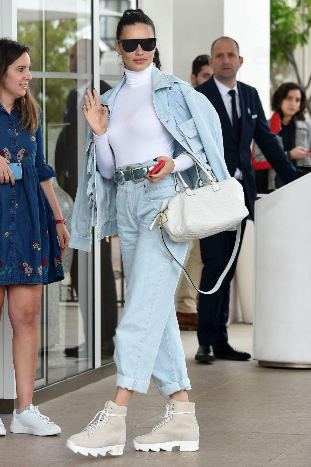 Adriana Lima doputovala je u Cannes
