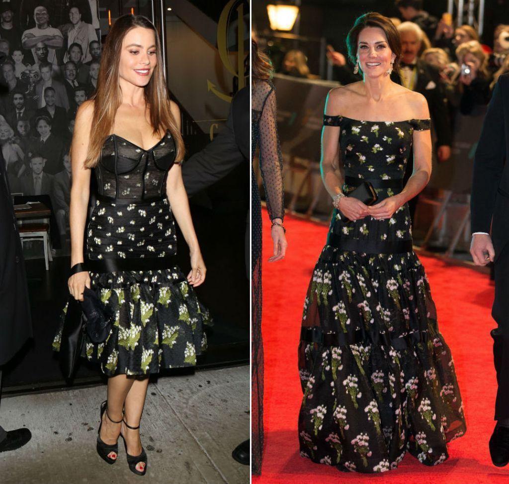 Sofia Vergara u kraćoj verziji haljine kakvu je nosila i Catherine Middleton - 1