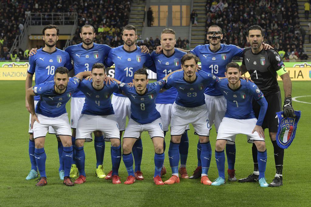 Reprezentacija Italije (Foto: AFP)