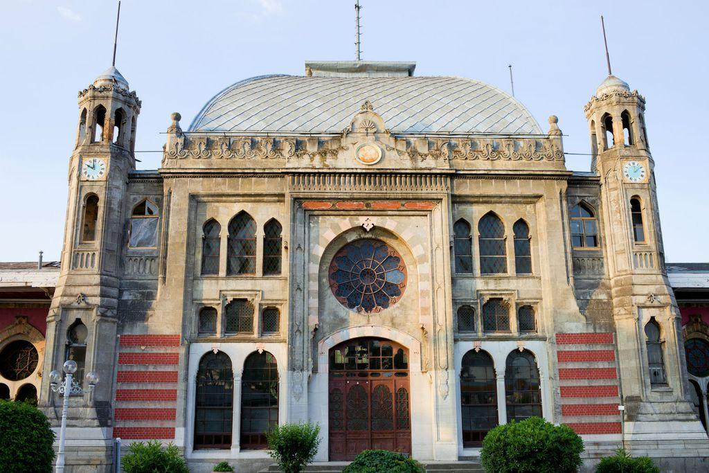 Dolazni željeznički kolodvor originalnog Orient Expressa u Istanbulu