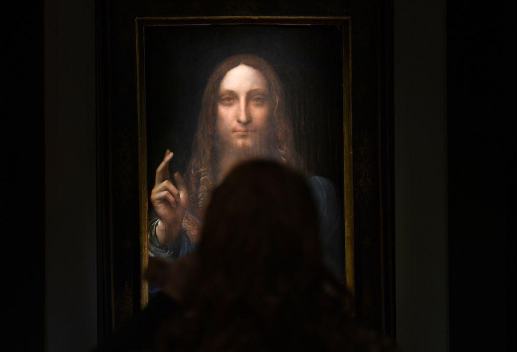 Da Vincijeva slika Krista prodana za 450,3 milijuna dolara (Foto: AFP)