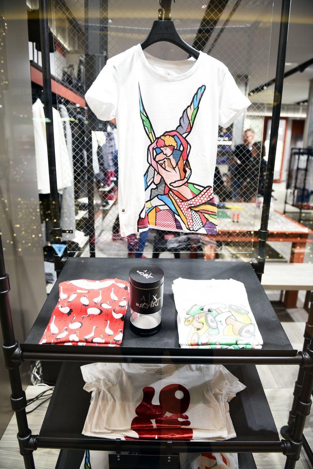 Armani Exchange: Novu kolekciju oslikali su ulični umjetnici