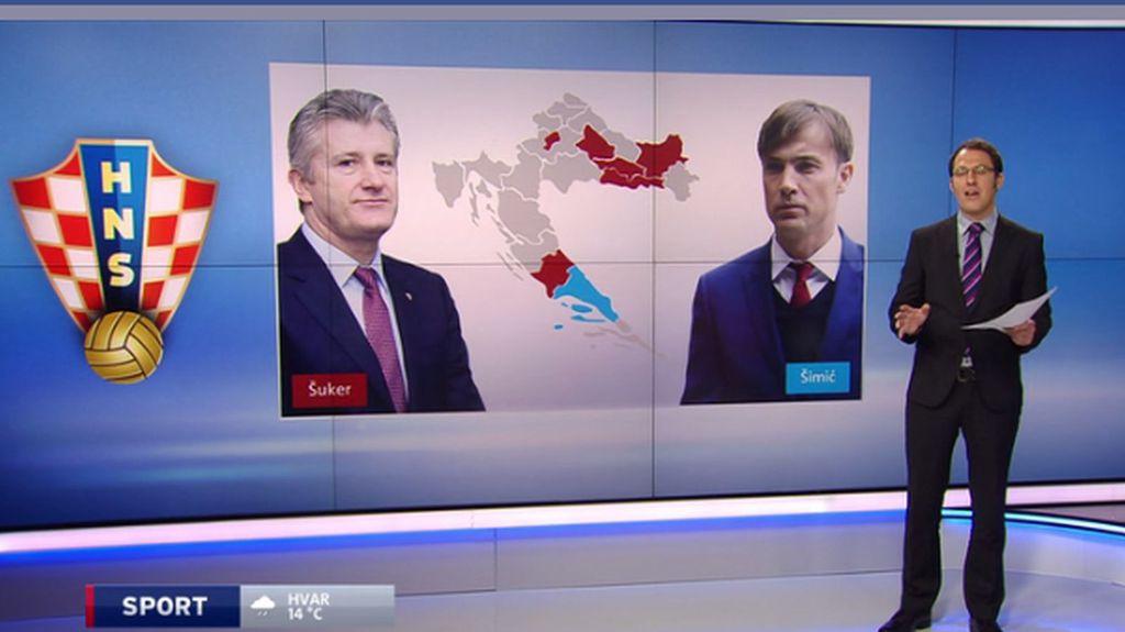 Šuker i Šimić u borbi za predsjednika HNS-a (Foto: GOL.hr)