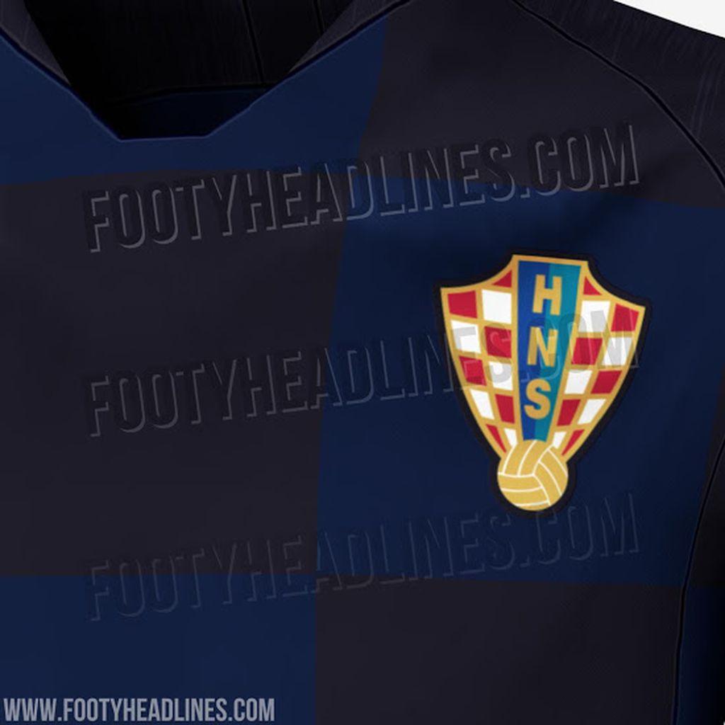 Novi dres hrvatske reprezentacije (footyheadlines.com)