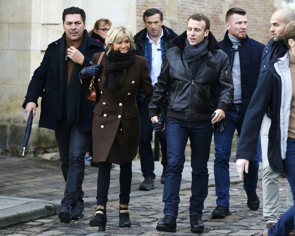 Brigitte i Emmanuel Macron u francuskog gradu Honfleur