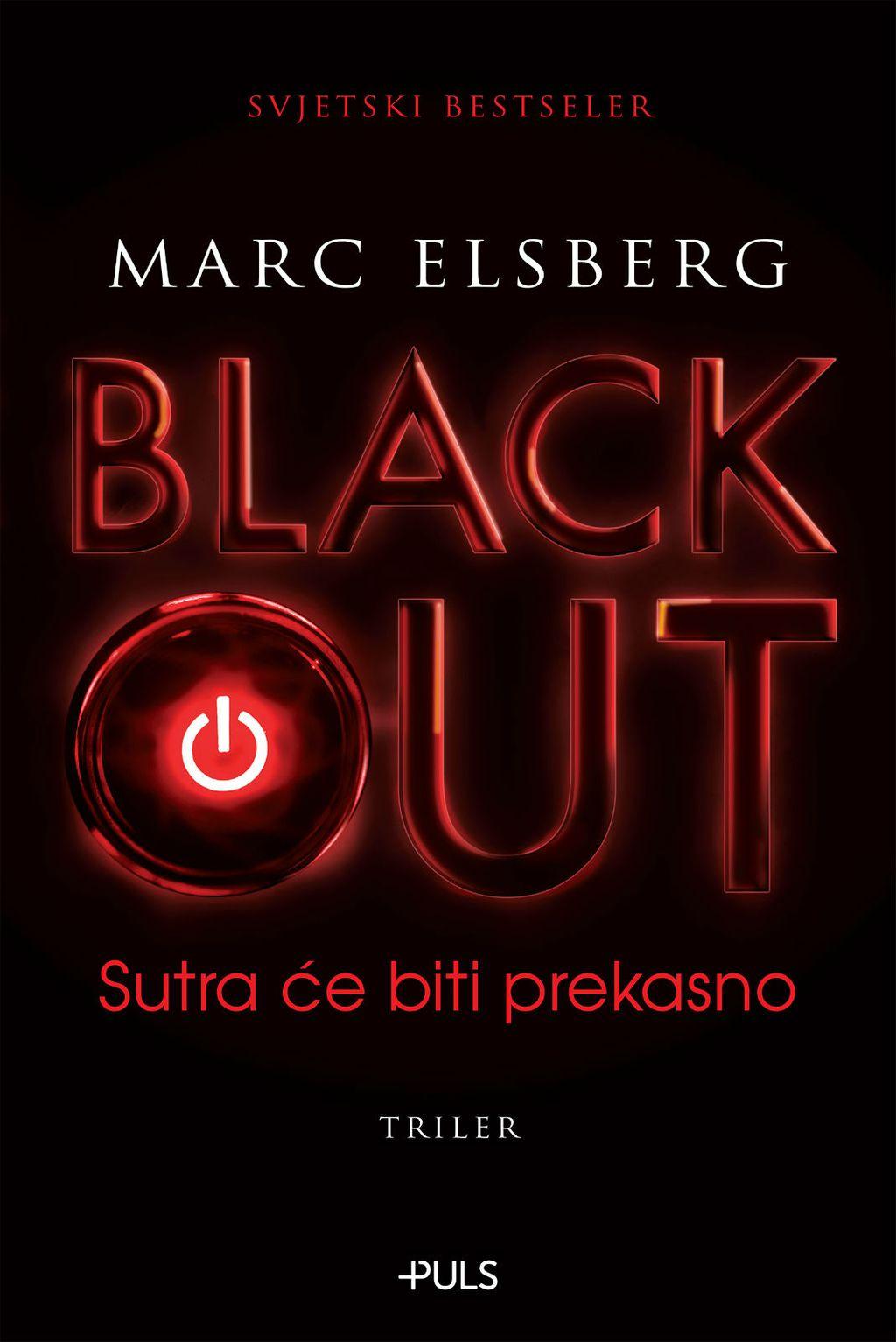 Naslovnica knjige Blackout Marca Elsberga