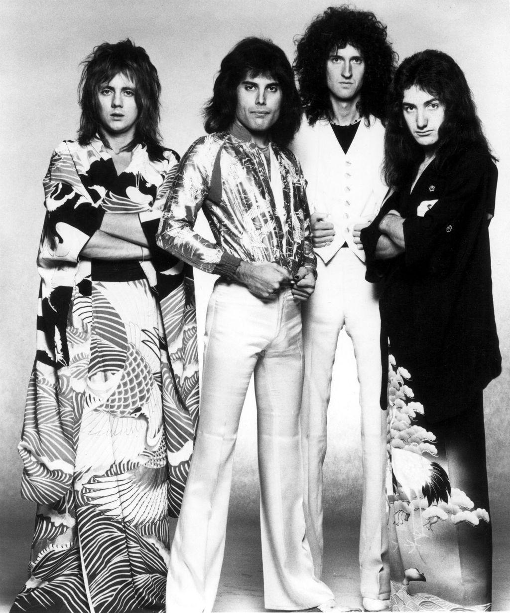 Freddie Mercury i grupa Queen na glazbenim počecima