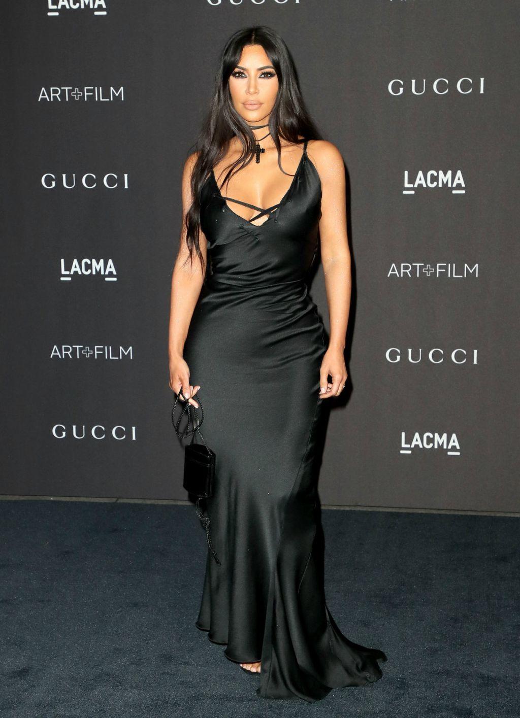 Kim u jednostavnoj haljini modne kuće Gucci