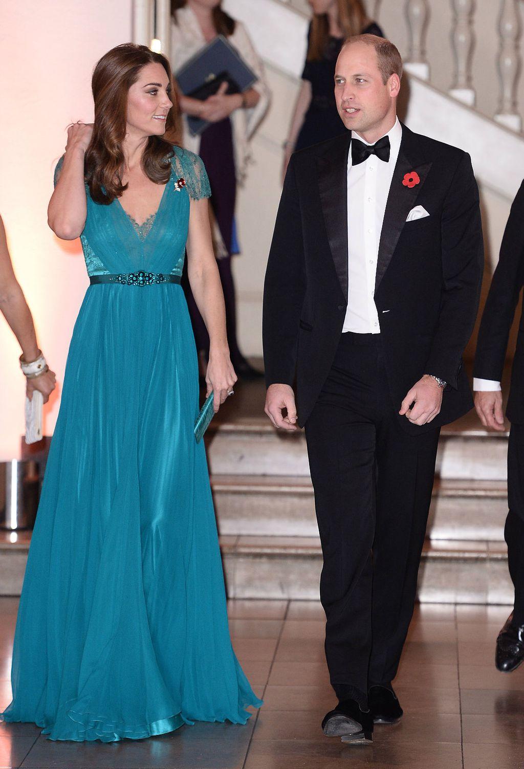 Catherine i William na dodjeli nagrada organizacije Tusk