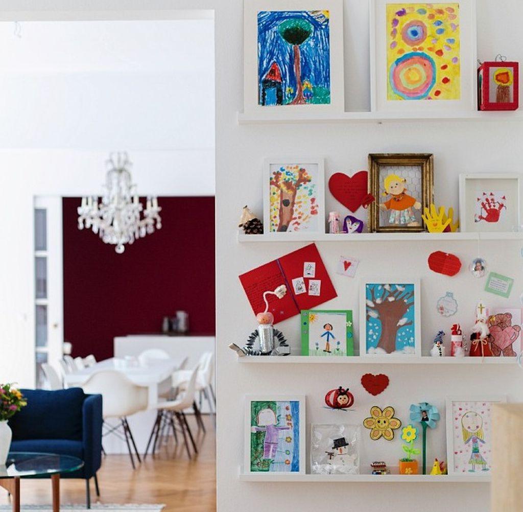 Pravilno posloženi radovi mogu biti ukras i u dnevnoj sobi