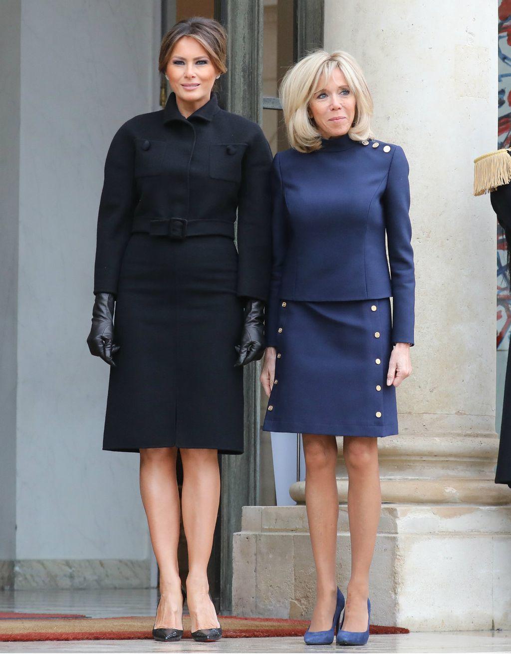 Melania i Brigitte susrele su se u Parizu
