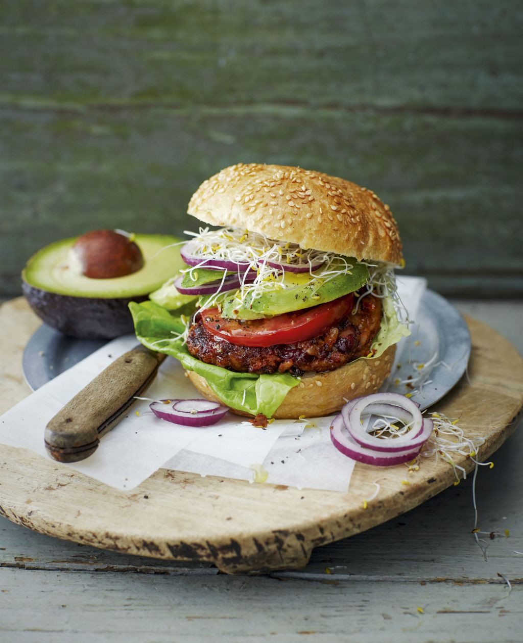 Hamburger od graha