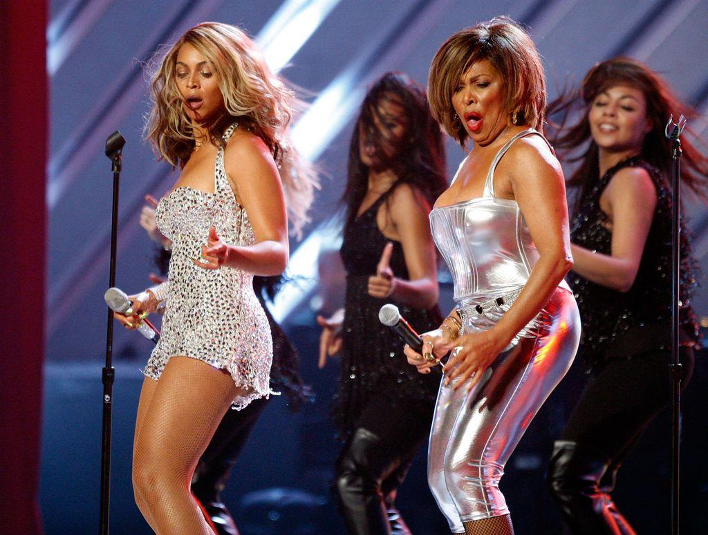 Tina Turner i Beyonce