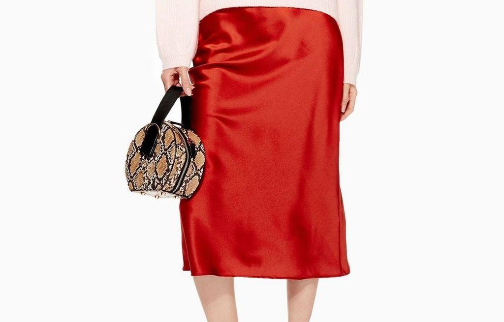 Topshop satenska suknja idelana je za sve prigode