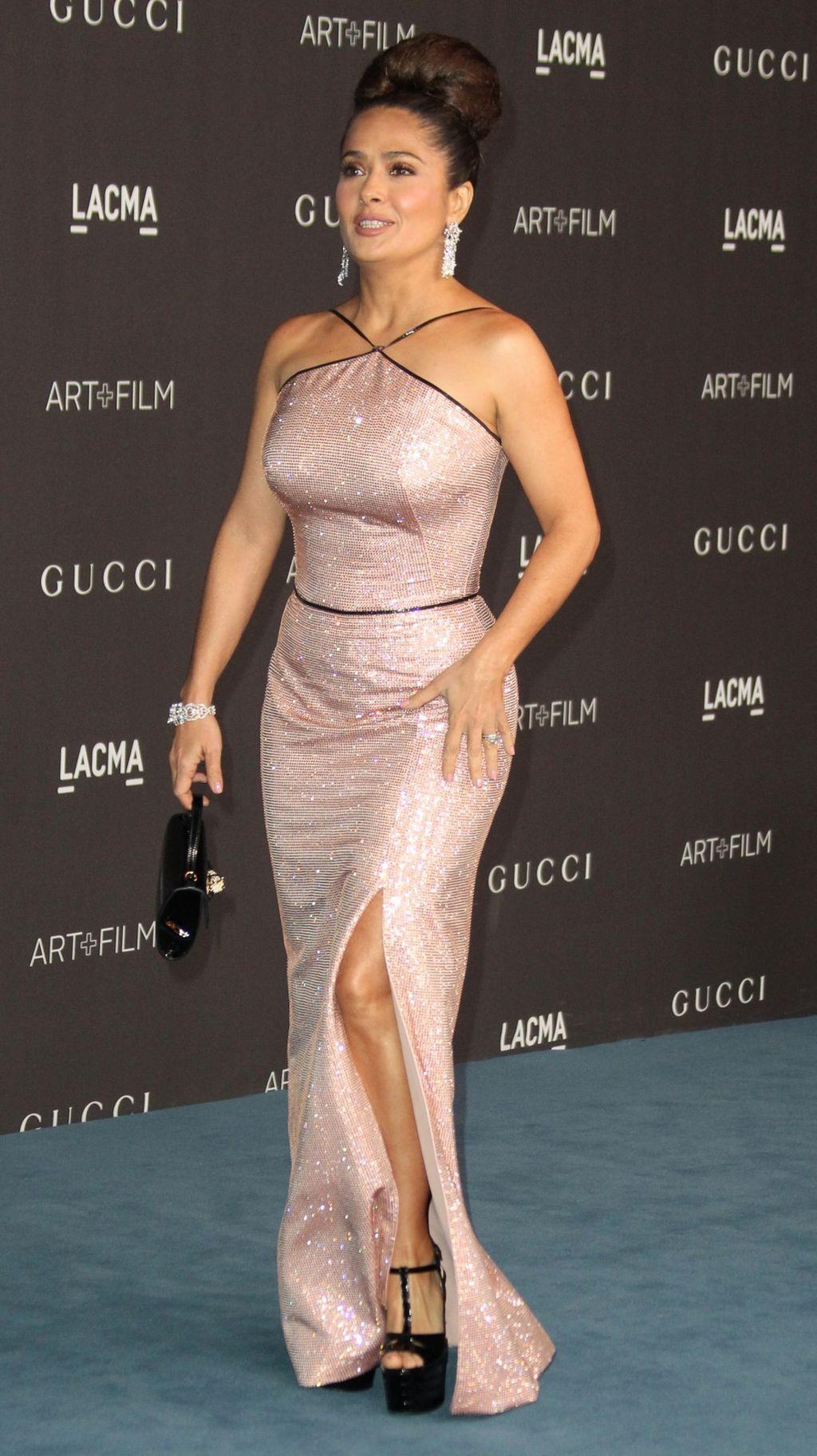 Salma Hayek u senzualnoj haljini modne kuće Gucci - 9