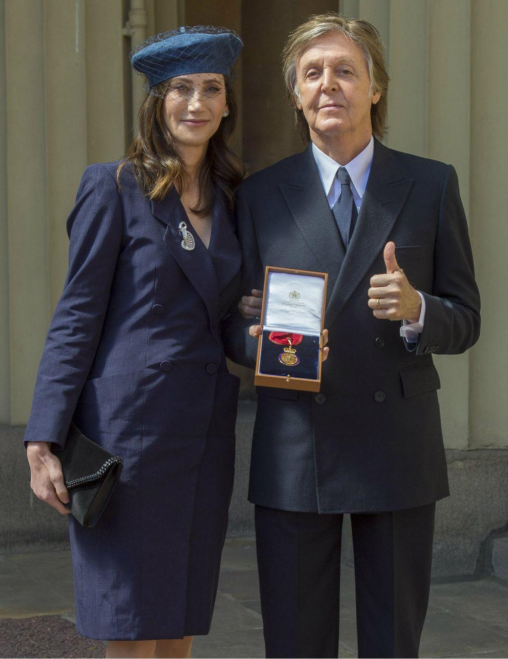 Nancy Shevell i Paul McCartney