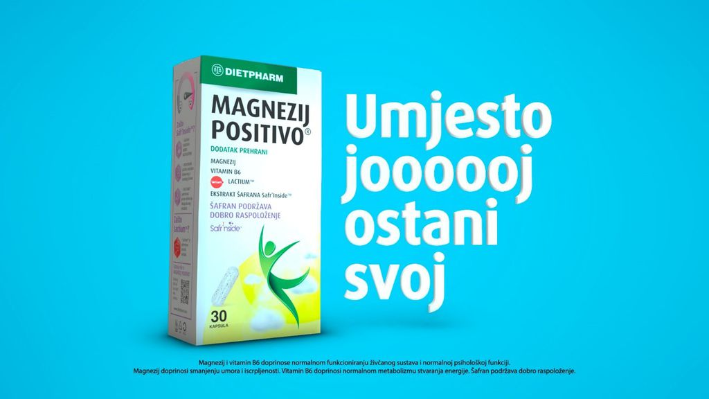 Magnezij Positivo® kapsule