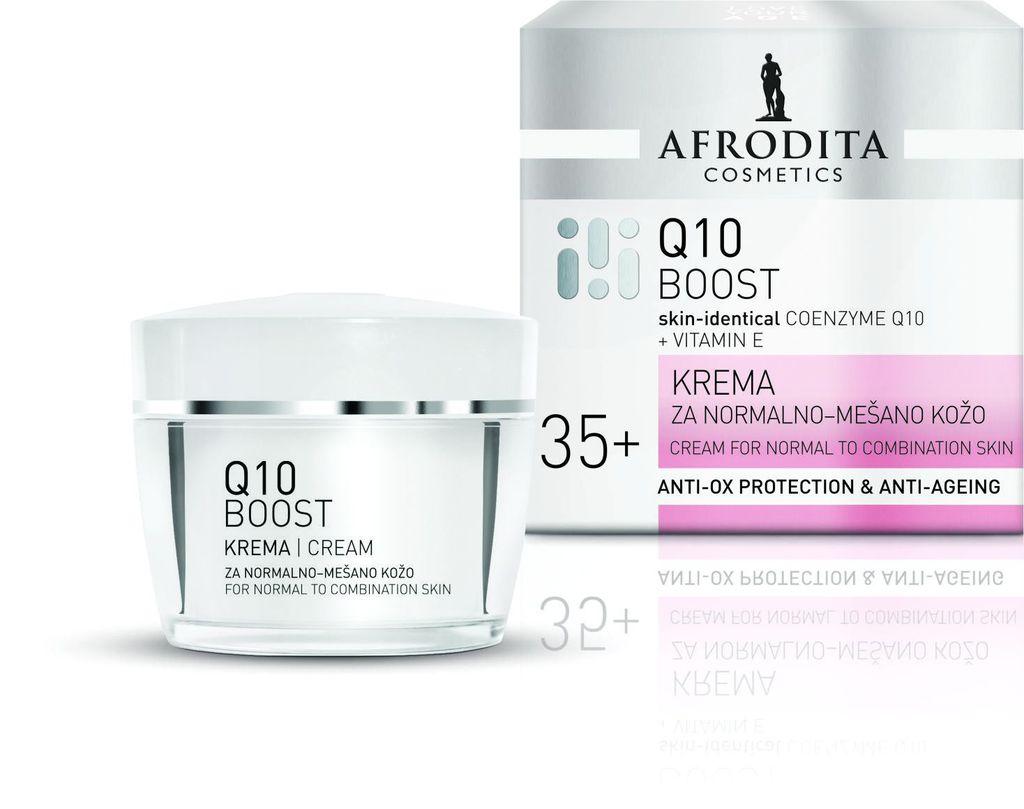 Afrodita Q10BOOST krema za normalnu kožu
