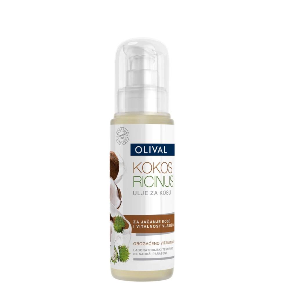 Olival – ulje za kosu od kokosa i ricinusa