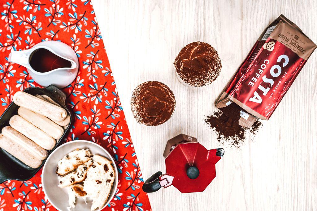 Zimski tiramisu s koricom naranče, panattoneom i Costa Coffee s čokoladnom aromom - 2