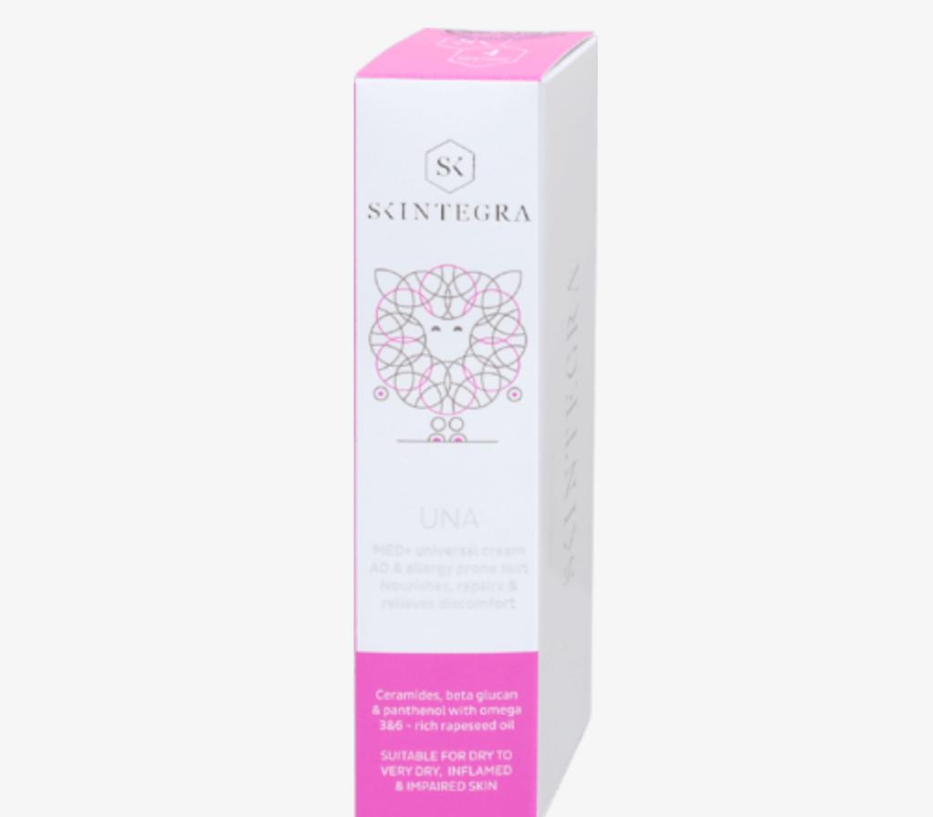 SKINTEGRA Una hranjiva i zaštitna krema za suhu, osjetljivu i netolerantnu kožu, 50 ml, 69,90 kn