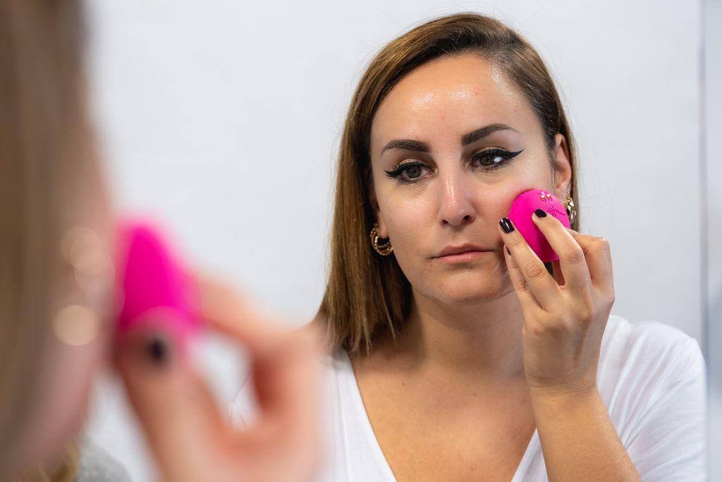 LUNA fofo uređaj za čišćenje lica - analiza kože