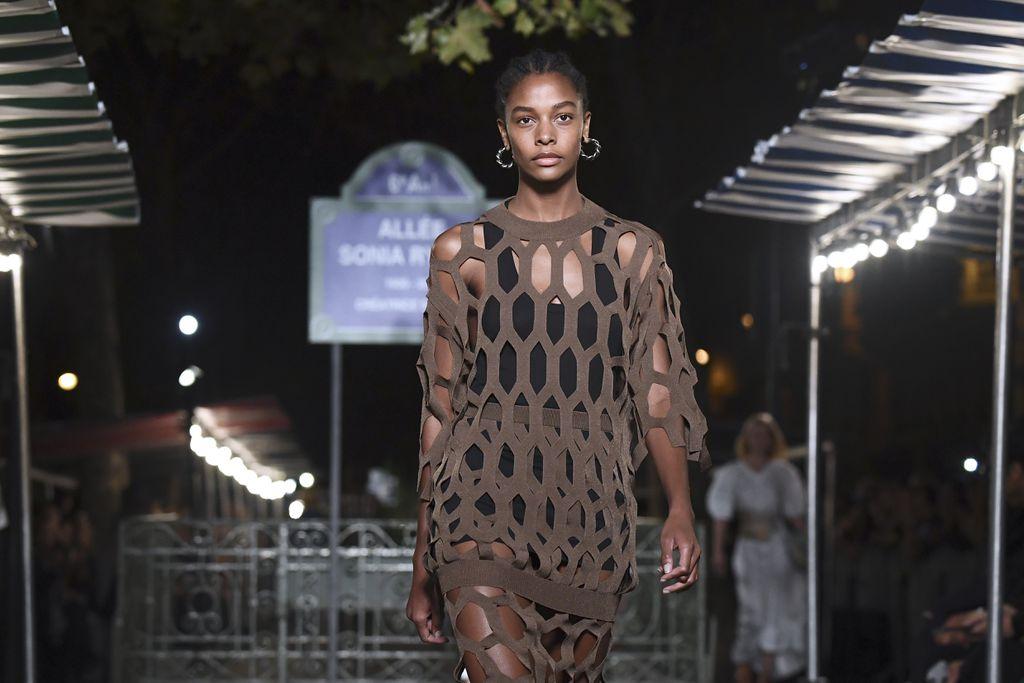 Sonia Rykiel - modna revija inspirirana tržnicom (Foto: AFP) - 2