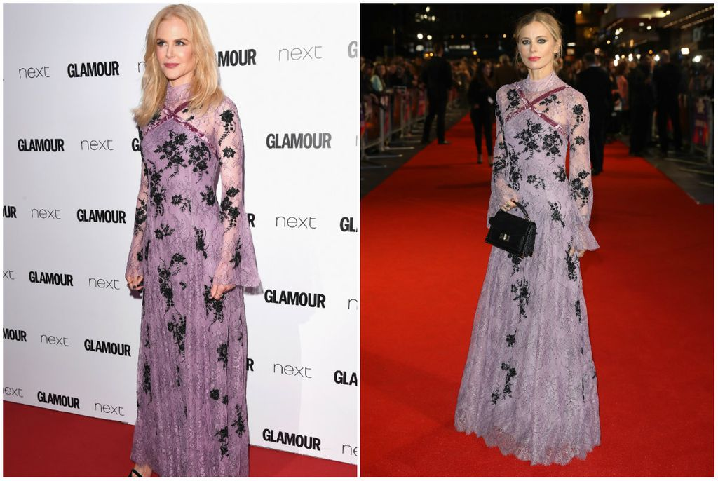 Nicole Kidman i Laura Bailey (Foto: Getty Images)