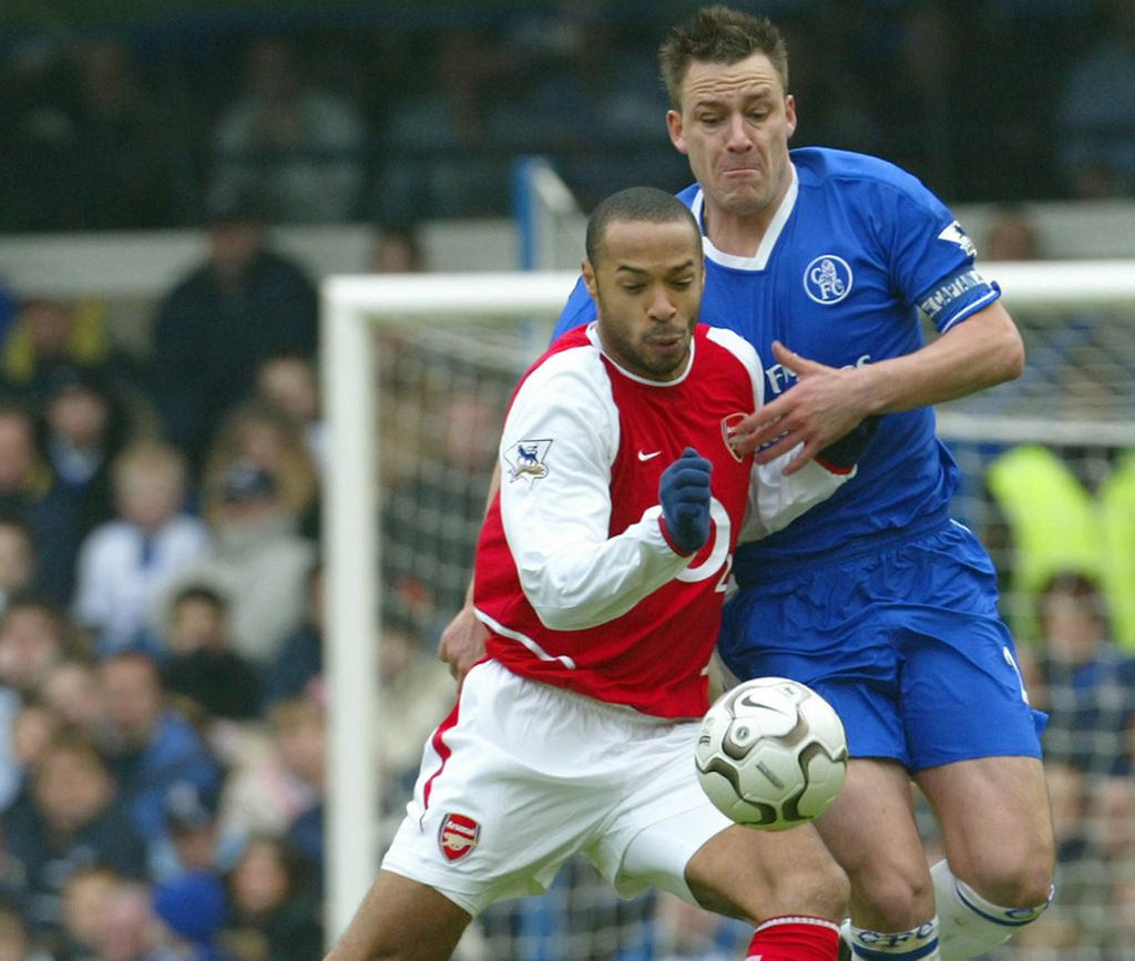 Thierry Henry i John Terry (Foto: AFP)