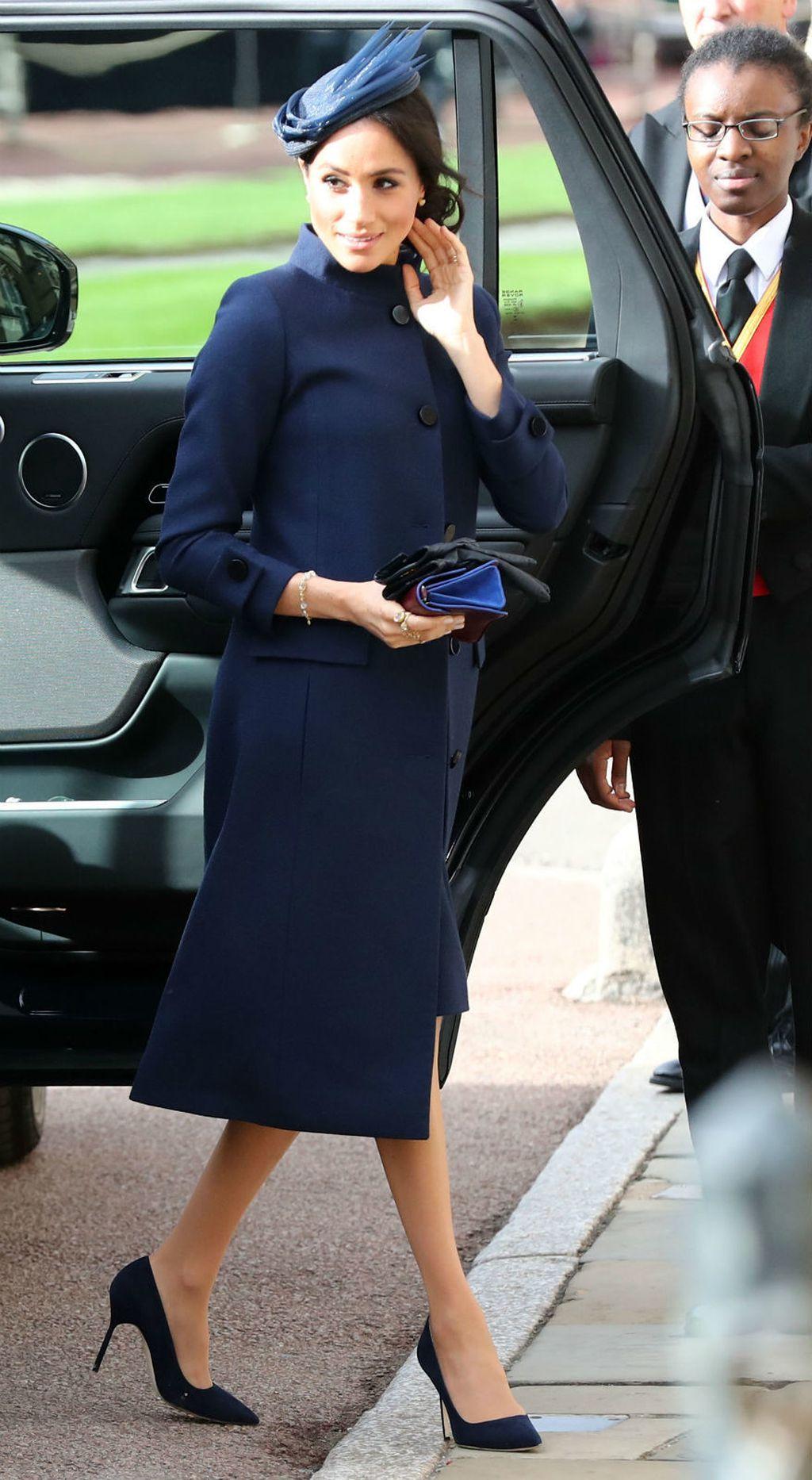 Meghan Markle na vjenčanju princeze Eugenie - 6