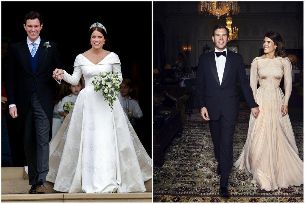 Dva izdanje princeze Eugenie (Foto: AFP)