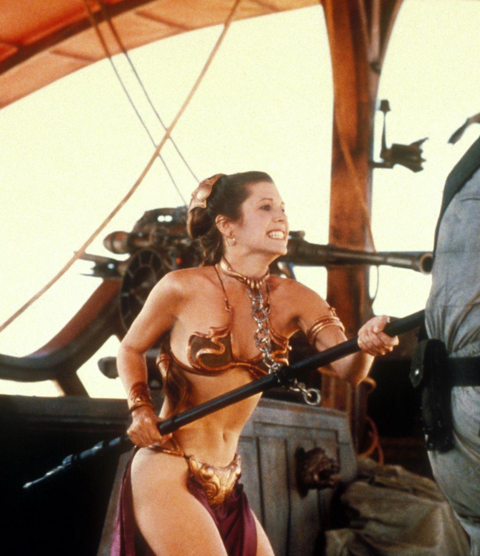 Carrie Fisher u filmu Ratovi zvijezda VI: Povratak Jedija - 2
