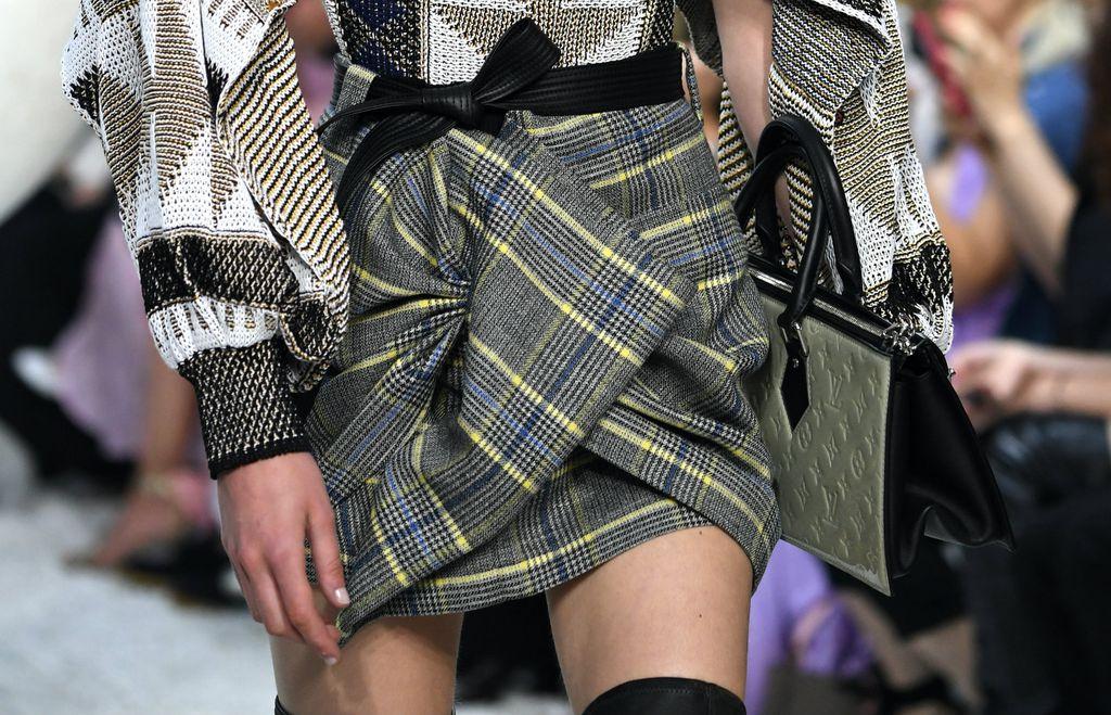 Modernizirana karirana suknja modne kuće Louis Vuitton