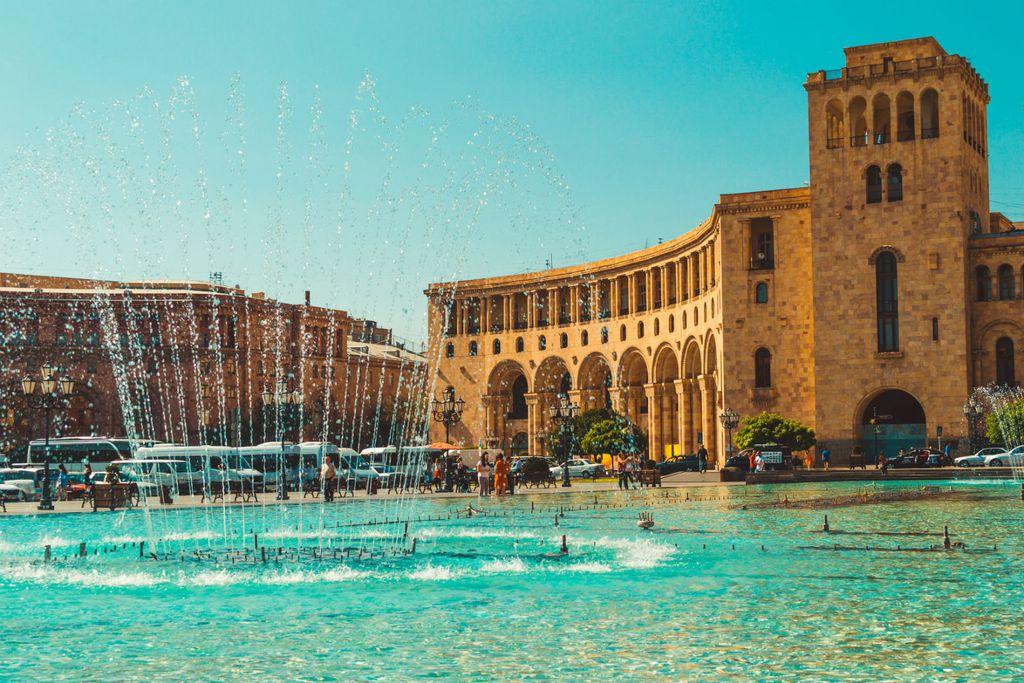 Prekrasna arhitektura u Erevanu