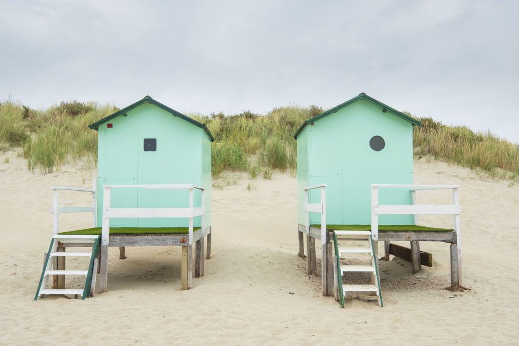 Kućice na plaži, Nizozemska