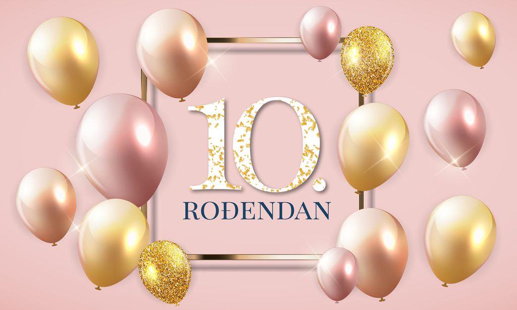 Roses slavi 10. rođendan