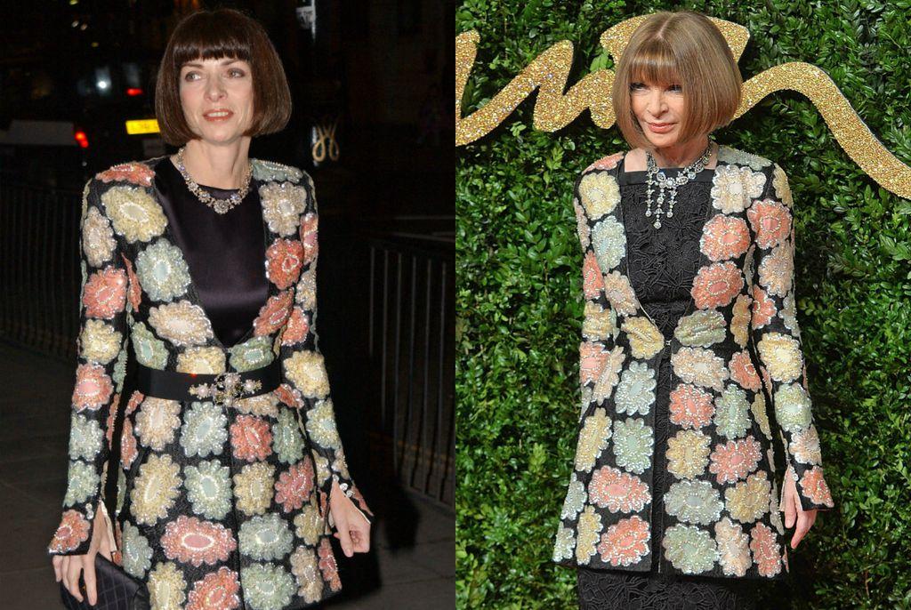 Anna Wintour 2002. i 2015. godine