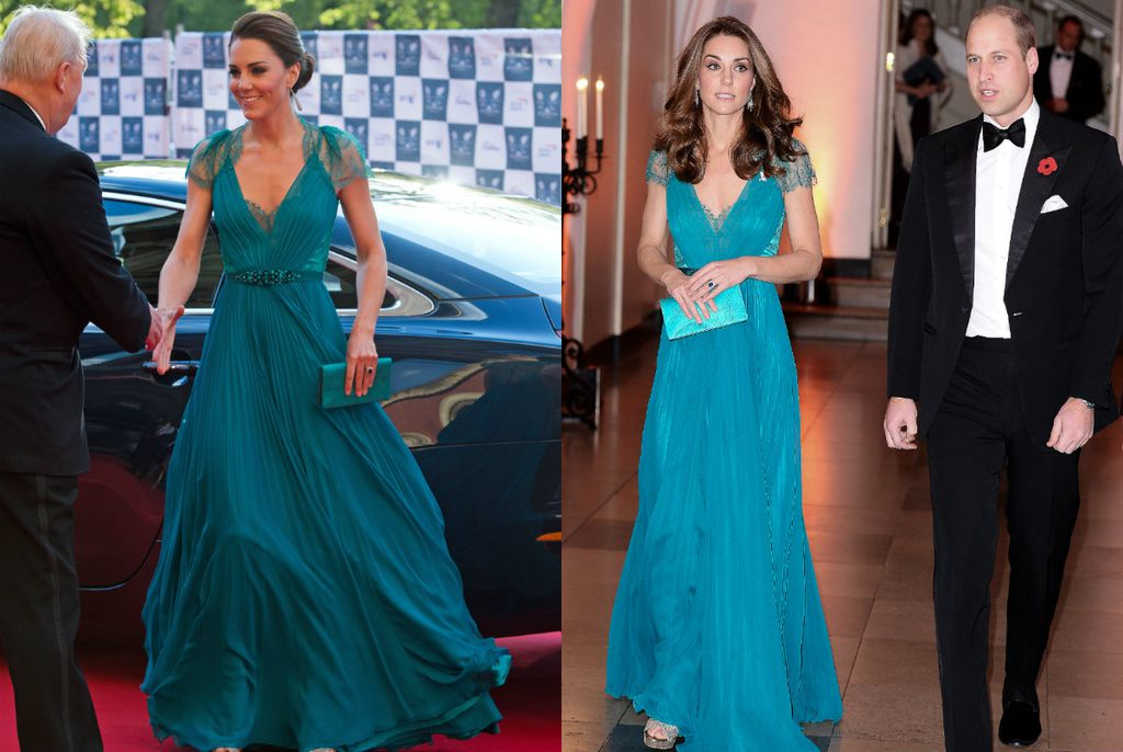 Catherine Middleton 2002. i 2018. godine