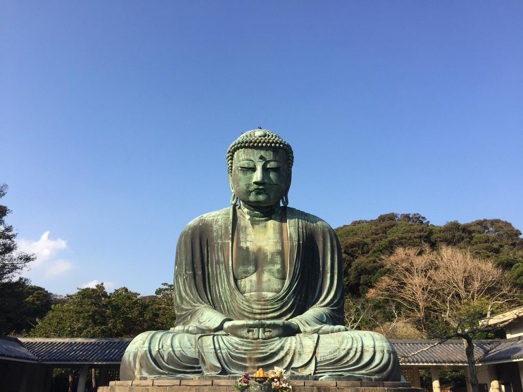 Great Buddha of Kamakura ili Daibutsu