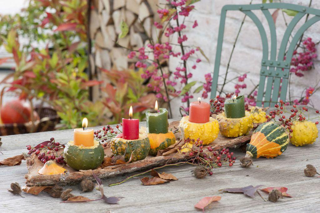 Ideje za dekoriranje doma s kraljicom jeseni bundevom - 9