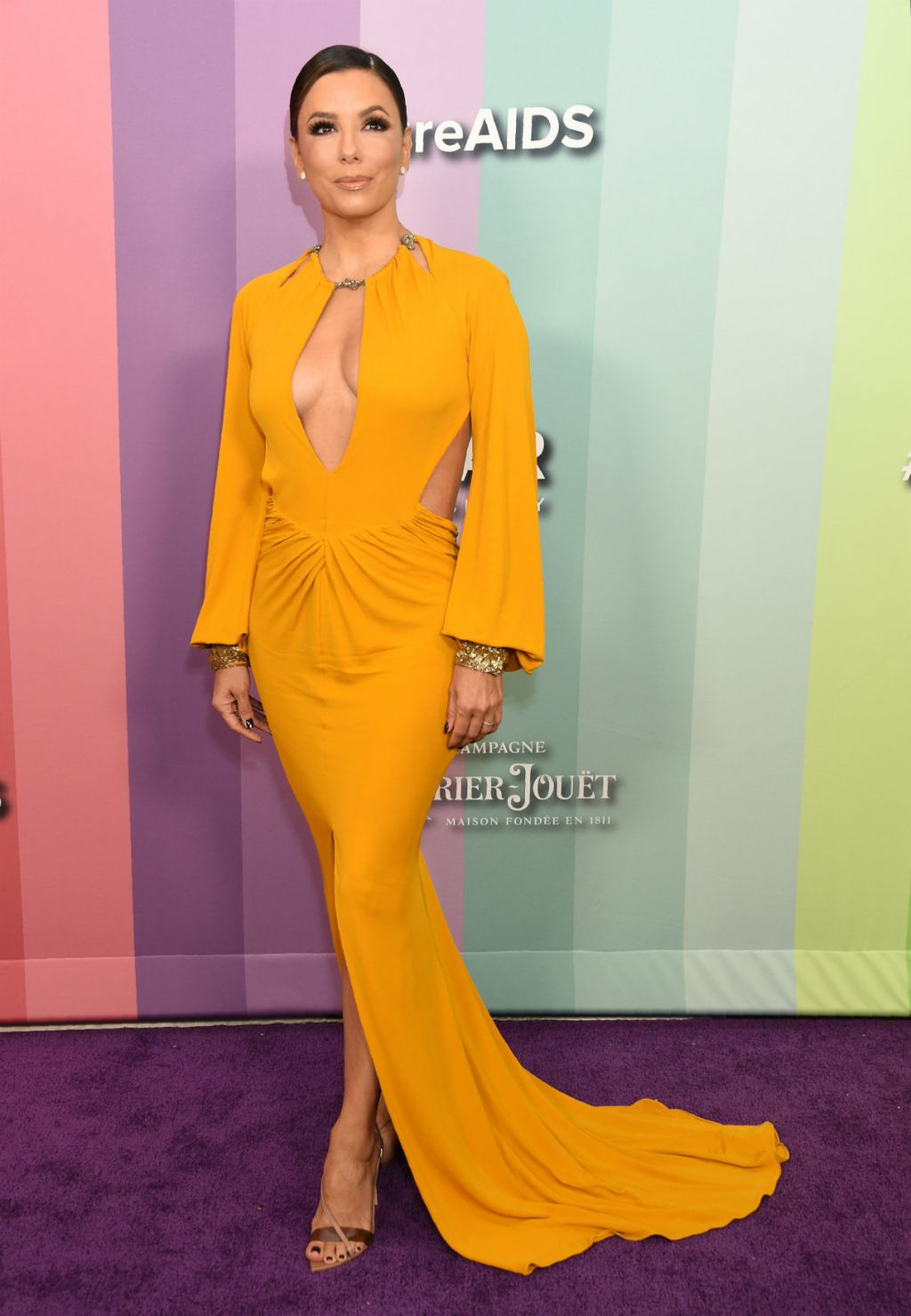 Eva Longoria na gala večeri zaklade amfAR