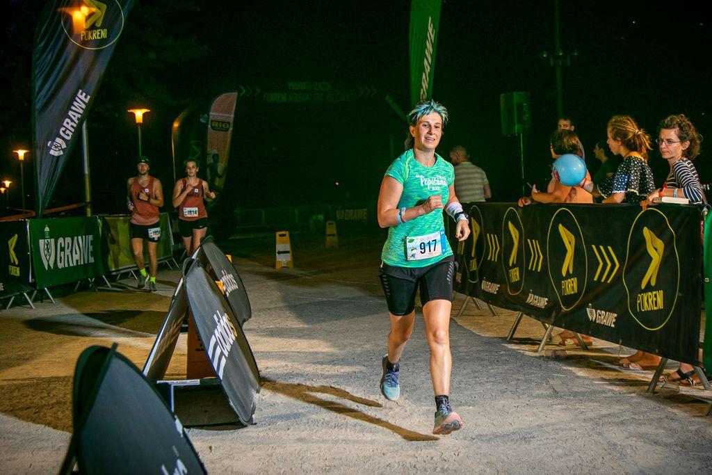 Martina Maloča, sudjelovanje na polumaratonu