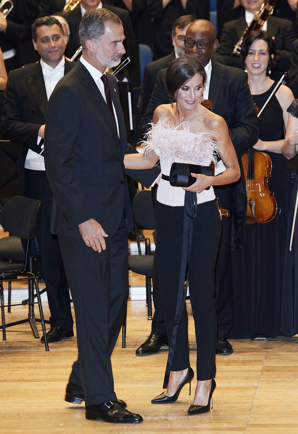 Letizia i Felipe na dodjeli nagrada u Oviedu