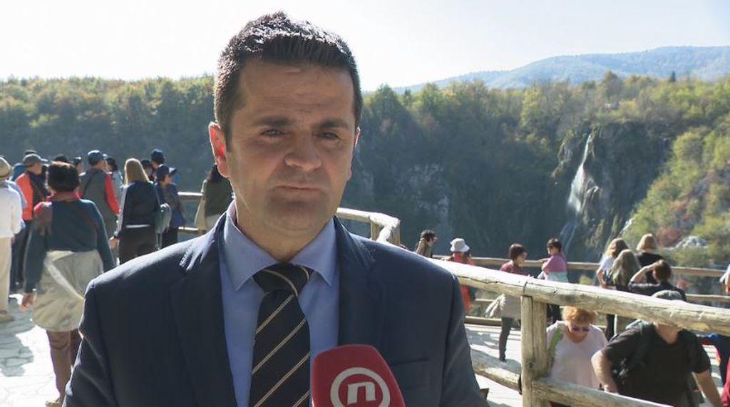 Tomislav Kovačević, ravnatelj NP Plitvička jezera (Foto: Dnevnik.hr)