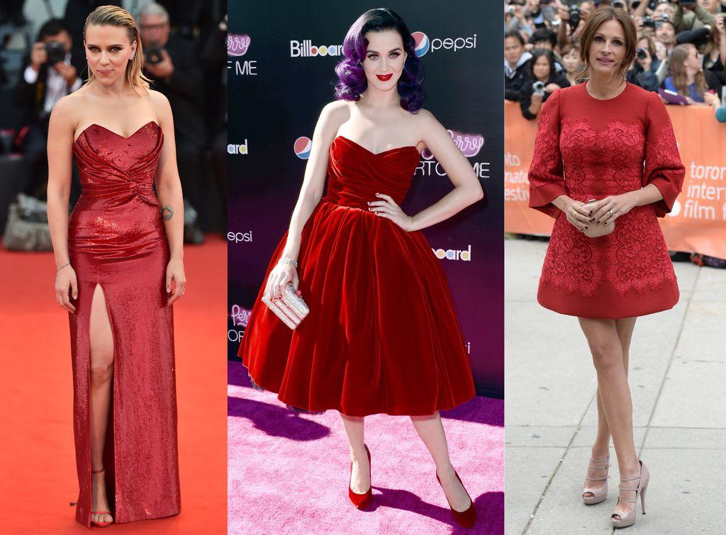 Scarlett Johansson, Katy Perry i Julia Roberts u crvenim haljinama koje ženama škorpionima odlično pristaju