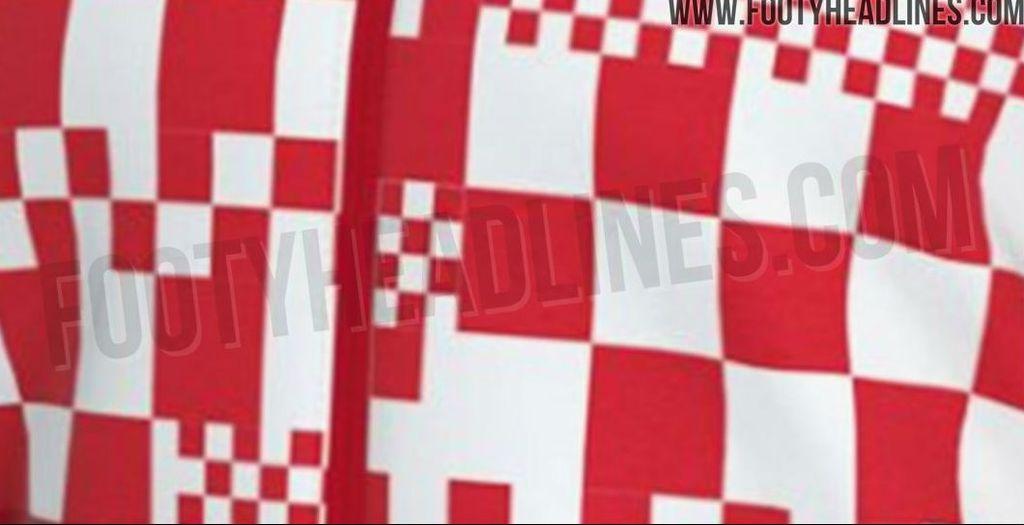 Navodni uzorak novog dresa Vatrenih (footyheadlines.com)