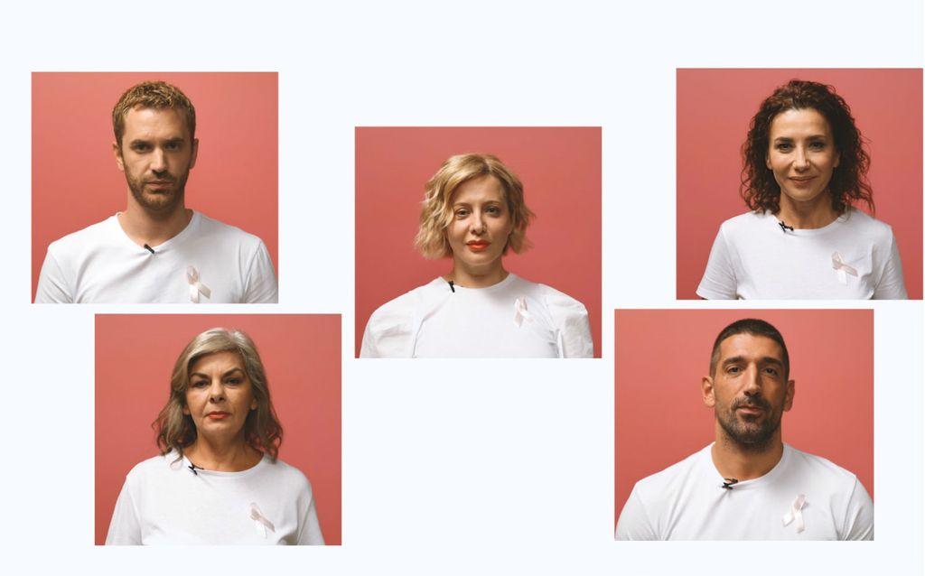 Momčilo Otašević, Vlasta Ramljak, Linda Begonja, Ecija Ojdanić i Slavko Sobin u video poruci ukazuju na važnost samopregleda