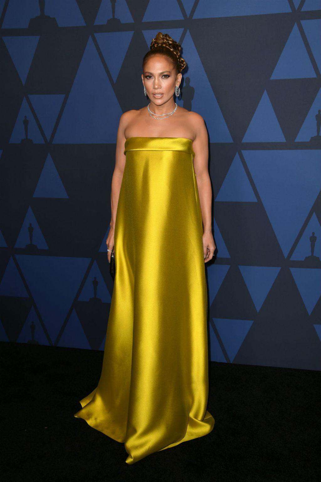 Jennifer Lopez u žutoj haljini Reem Acre - 5