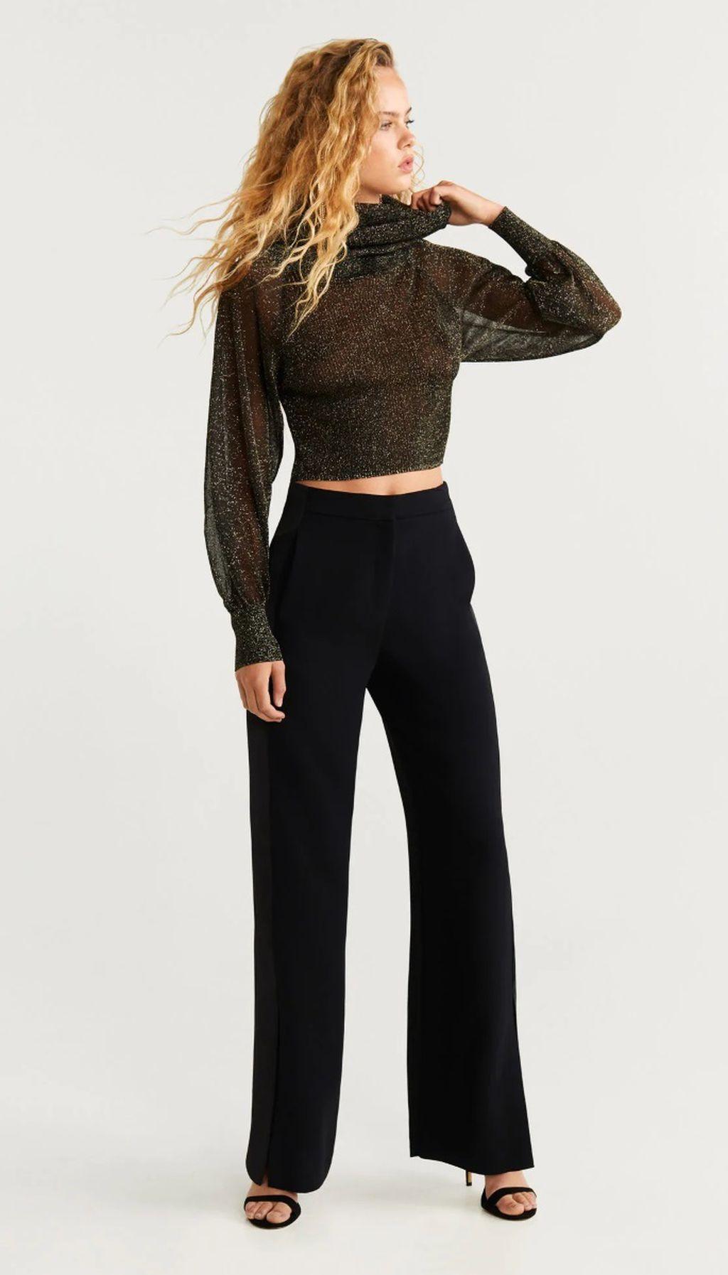 Crne hlače do veličine XXL - 3