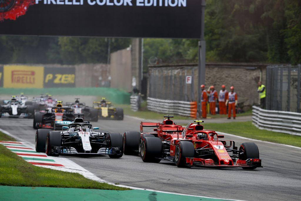Raikkonen ispred Hamiltona i Vettela (Foto: HOCH ZWEI/DPA/PIXSELL)